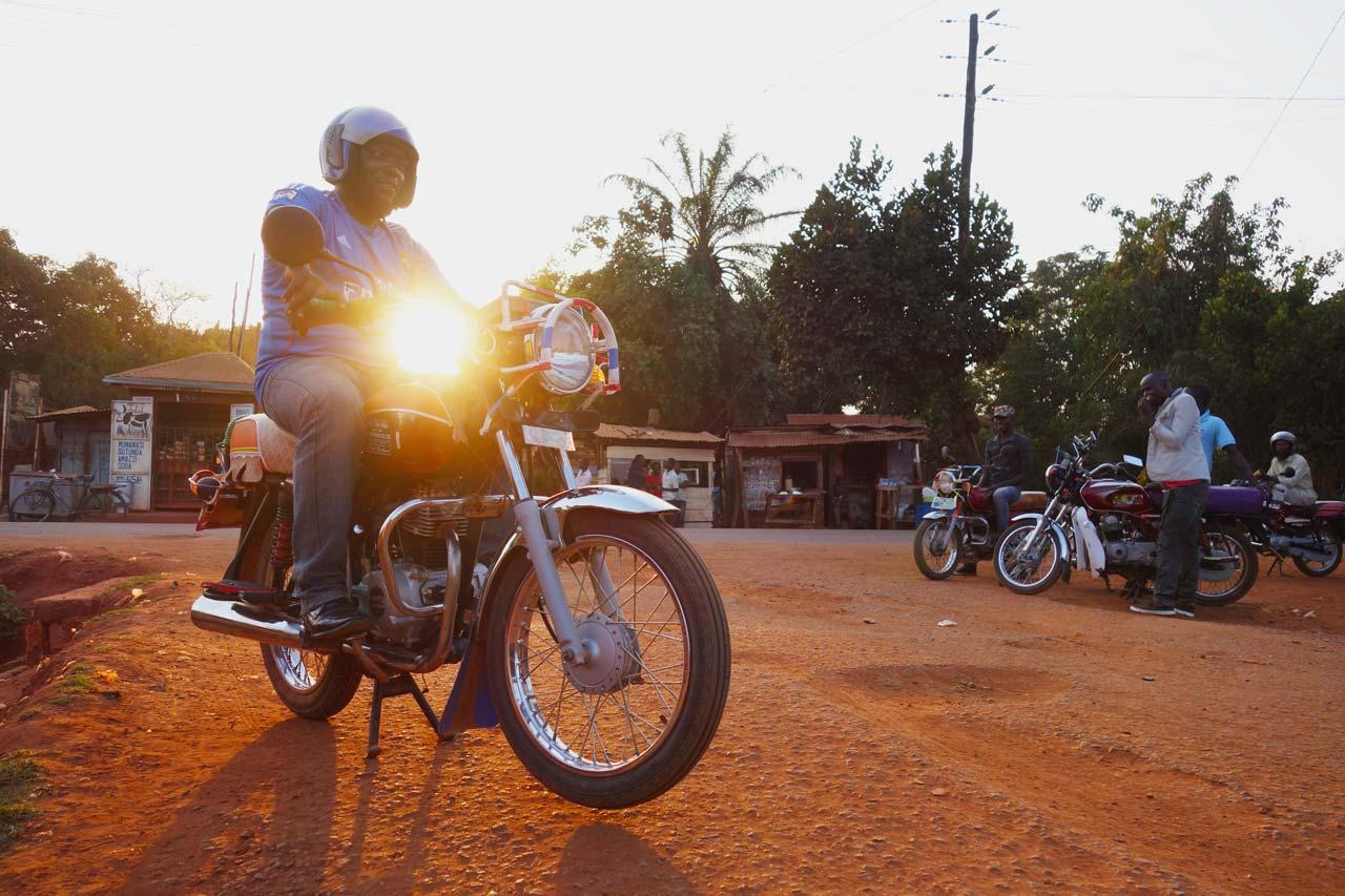 Boda Boda coffee table book - riders